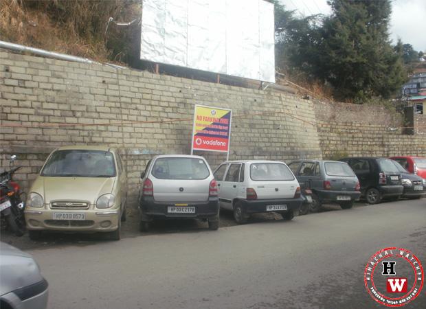 dhali-sanjauli-road-no-parking-ccd