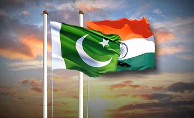 Pakistan-India-flag meeting