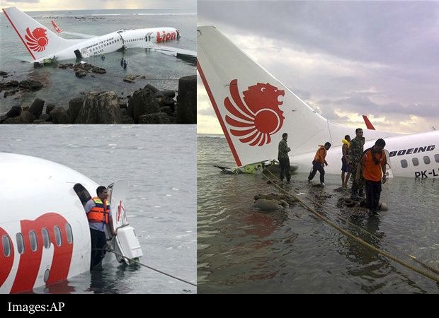 Indonesia Plane Crash In Sea