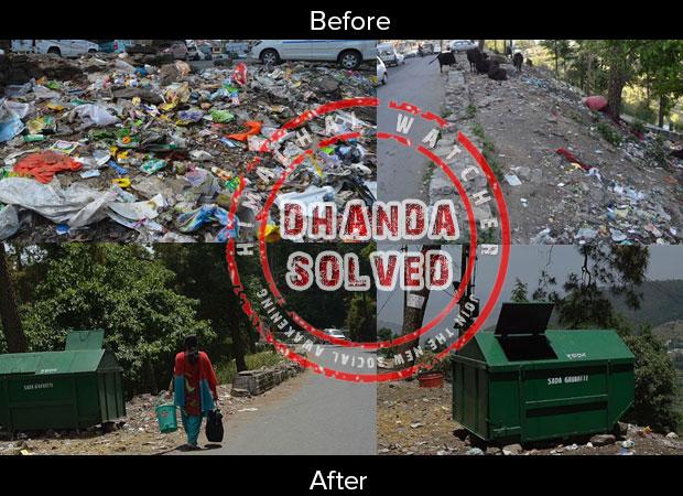 dhanda-garbage-solved