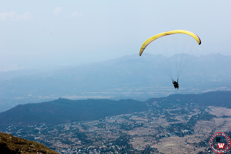 Paragliding competition-billing