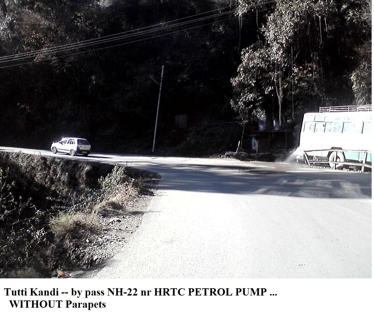 Nr Tutti Kandi HRTC Petrol Pump