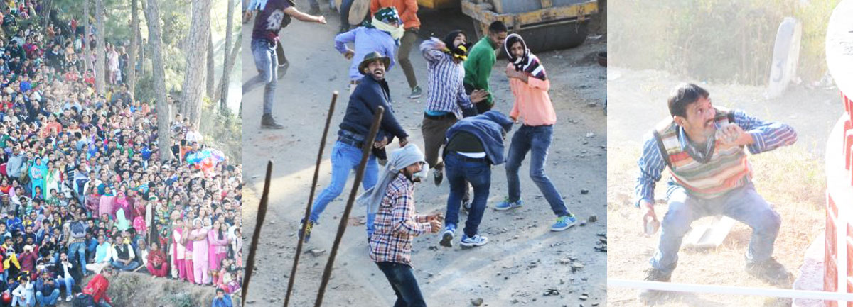 Himachal's-traditional-stone-pelting-festival-in-Dhami