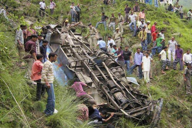 shimla bus accidents