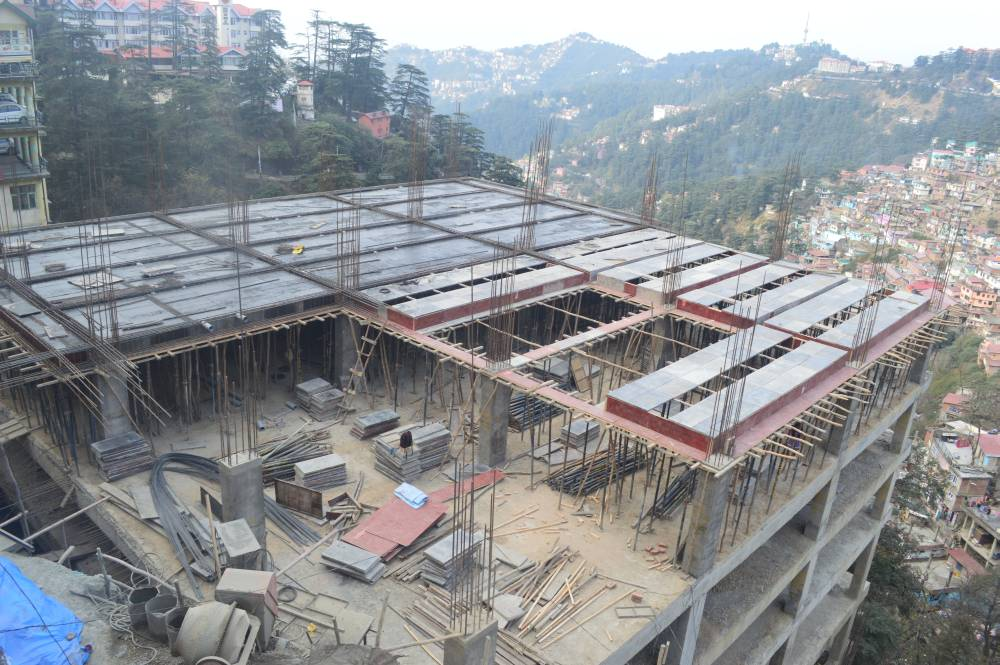 work-in-progress-near-lift-shimla