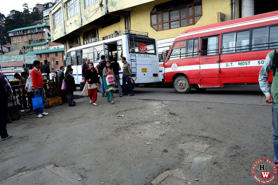 old-shimla-bus-stand-parking-space