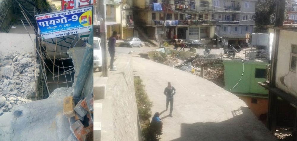 Shimla Encroachment pictures