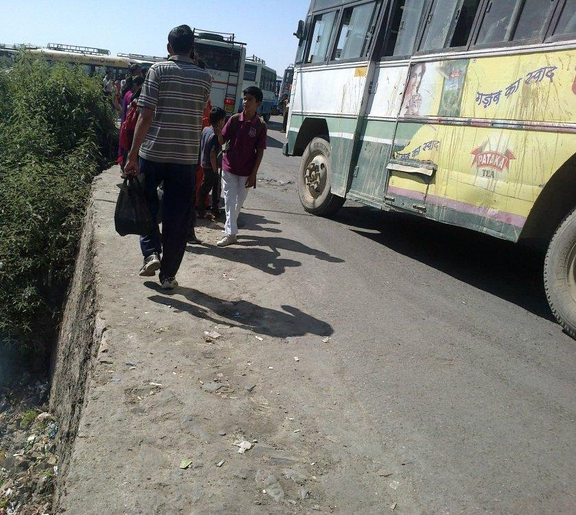 shimla isbt poor infrastructure