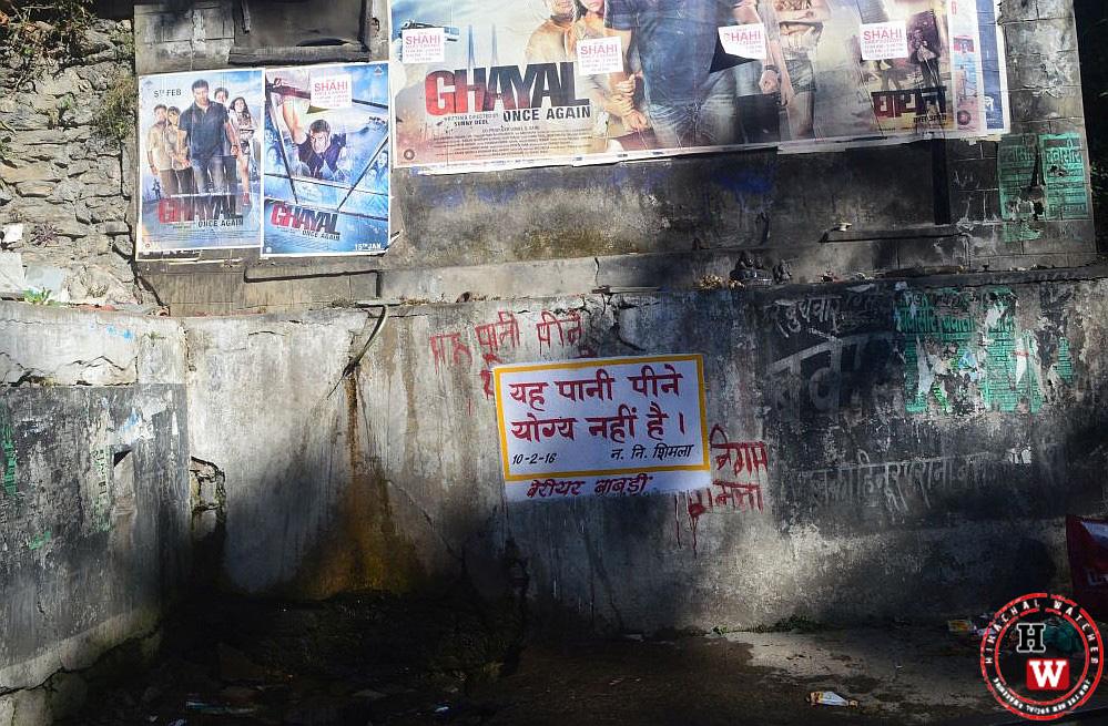 Water Contamination in Shimla