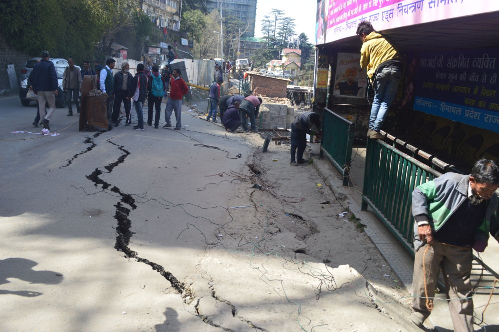Cart Road Shimla