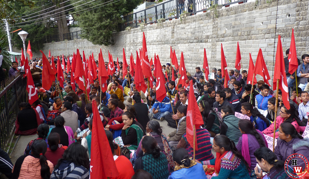 communist-protest-in-himachal