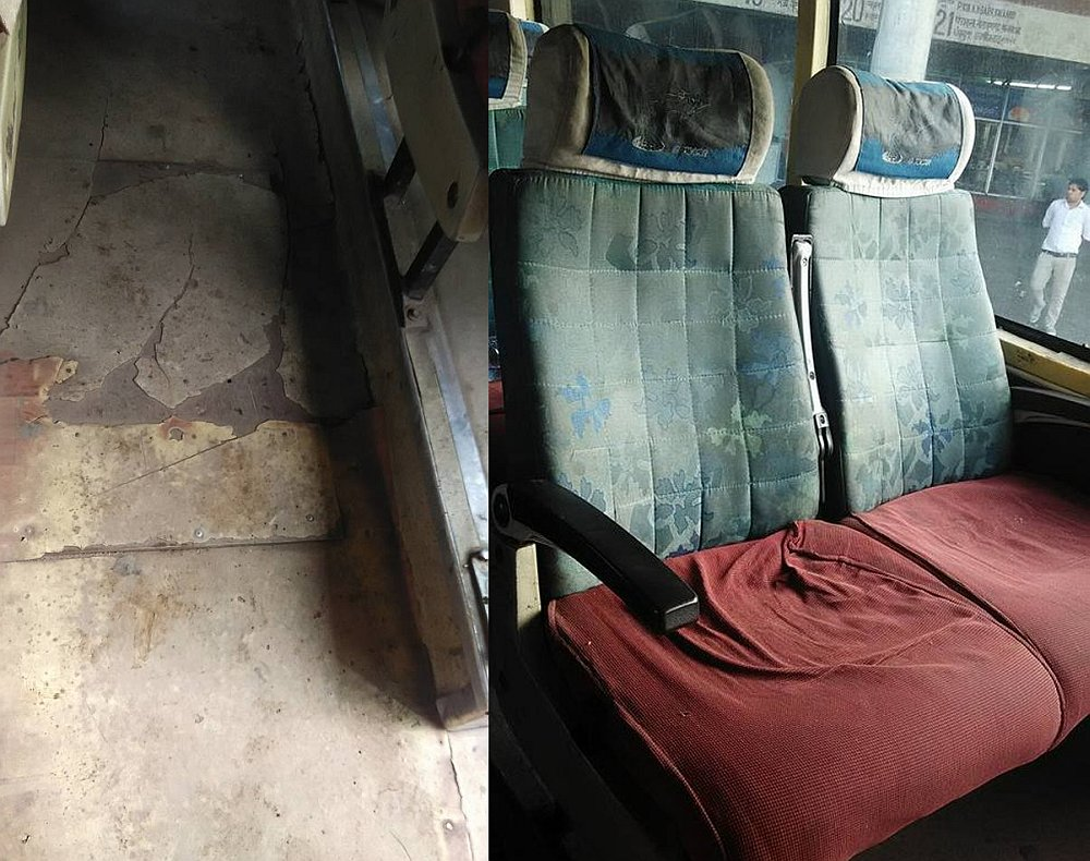 hrtc delux bus service from manali