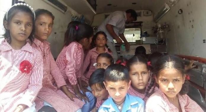 HP Govt school Students