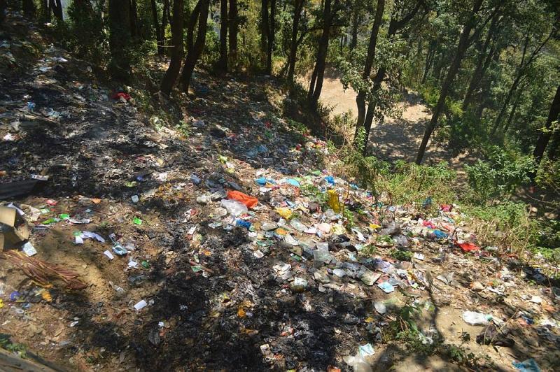 Sangti Garbage Shimla