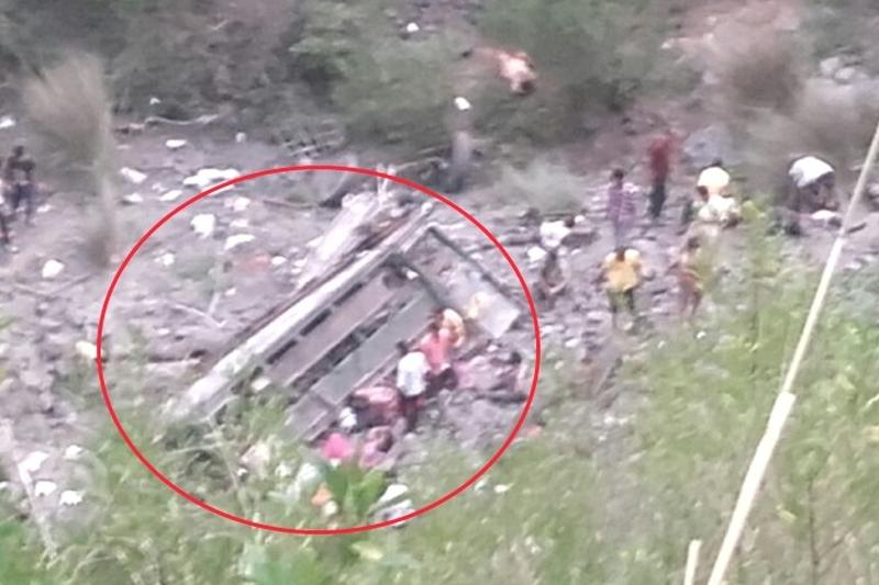Chamba Private Bus Accident