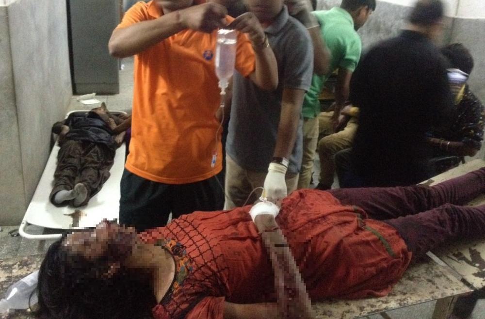 HRTC bus accident Mandi
