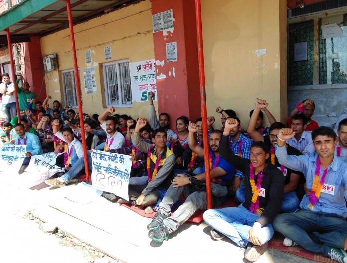 hpu students hunger strike