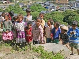 Charan Khad slum children