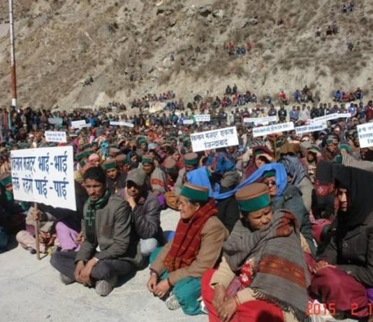 kinnaur-protest-against-jaypee-hydropower-2