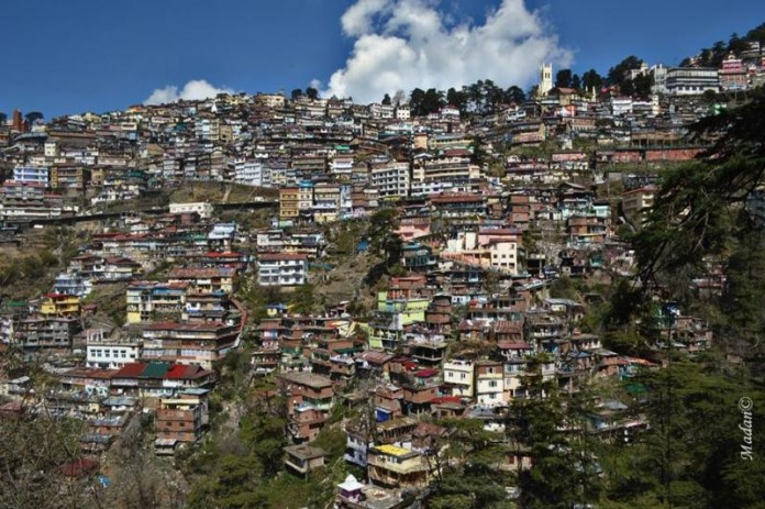 unauthorized buildings in Shimla