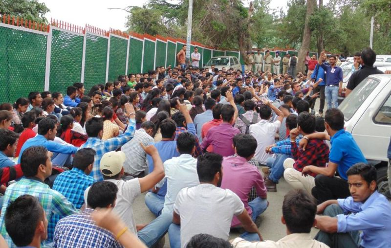 HP University Student Protest
