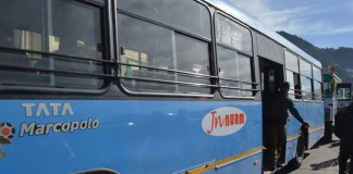 hrtc jnnurm buses