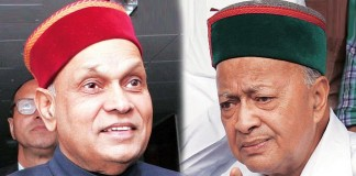 Dhumal takes on Virbhadra Singh
