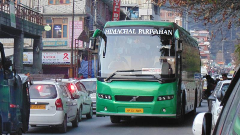 HRTC Volvo Buses