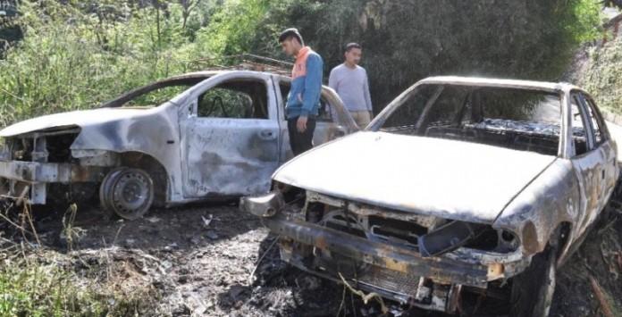Car Fire Combley Banks Shimla