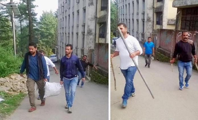 HP University Students Clash