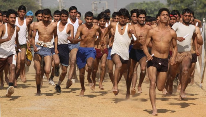Indian Army Recruitment Rally bilaspur himachal