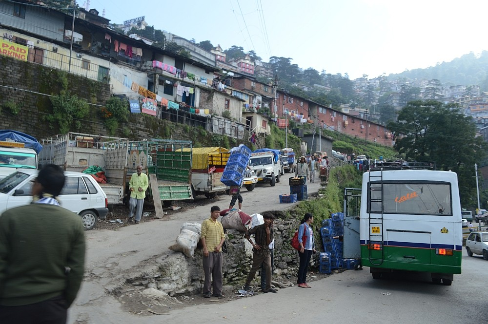 Shimla Sabzi Mandi Parking