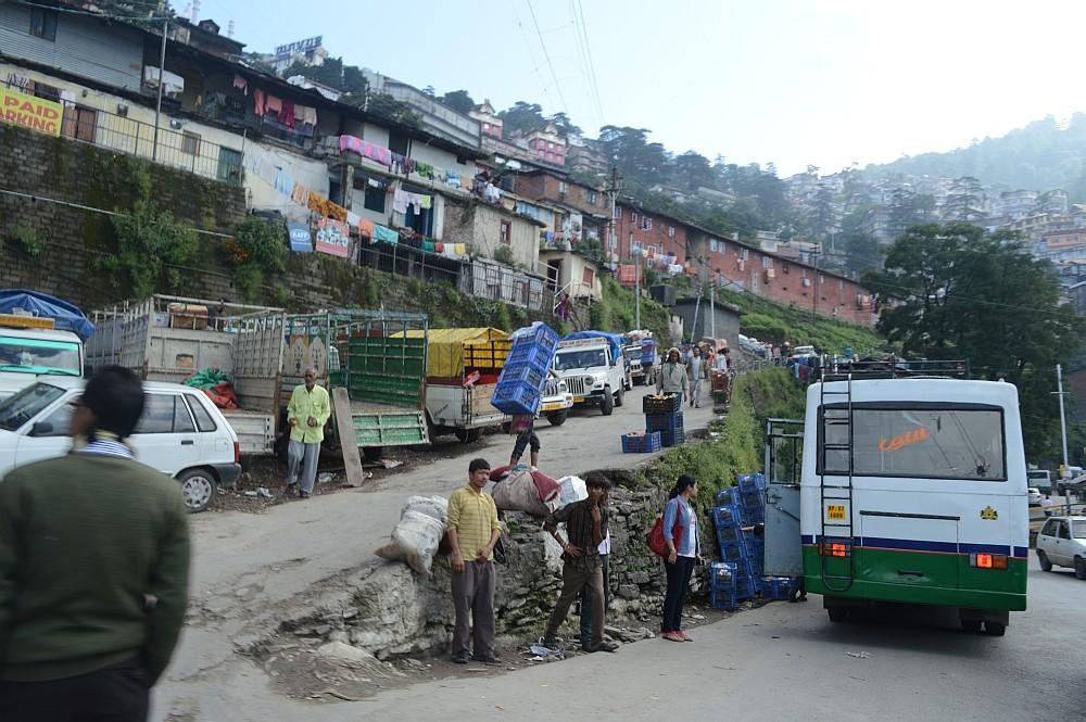 Shimla Sabzi Mandi Parking
