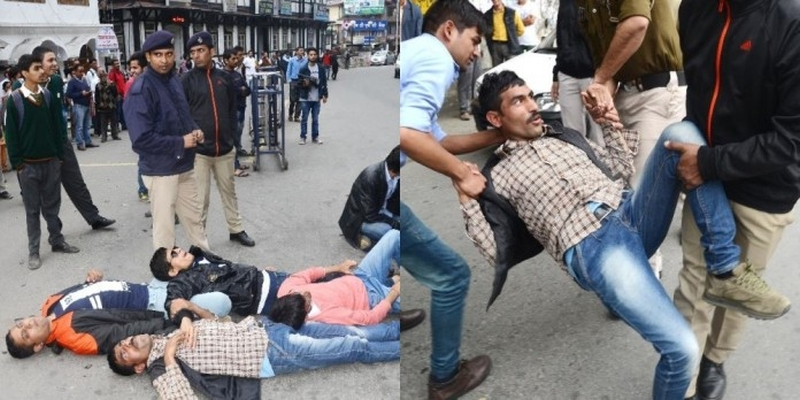 blind-protest-in-shimla-city