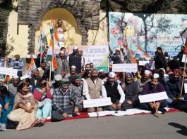 HimachaHimachal Congress Protest in Shimla Against Rahul gandhi Arrest 2l Congress Protest in Shimla Against Rahul gandhi Arrest 2
