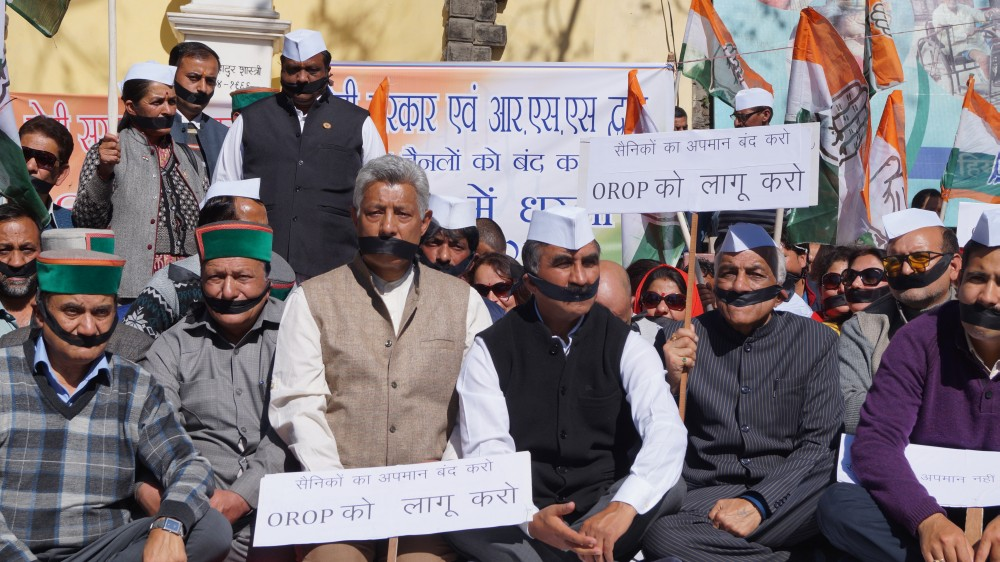 HimachalHimachal Congress Protest in Shimla Against Rahul gandhi Arrest 3 Congress Protest in Shimla Against Rahul gandhi Arrest 3