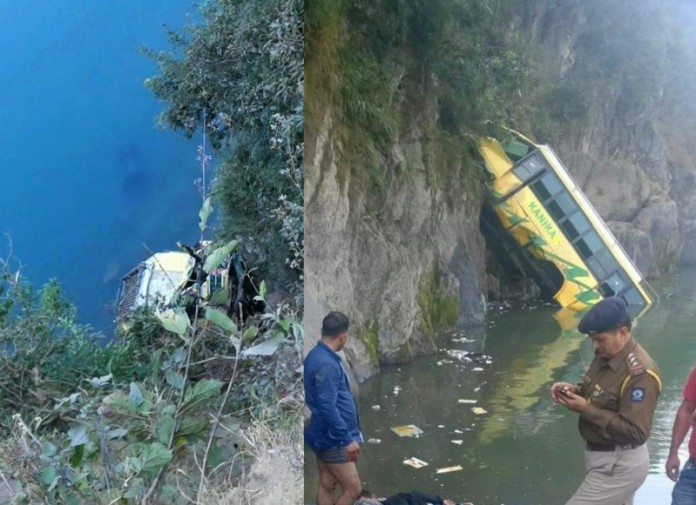 Mandi Bus Accident
