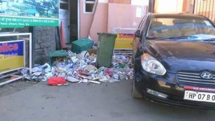 shimla-city-garbage