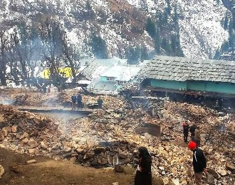 himachal-village-fire