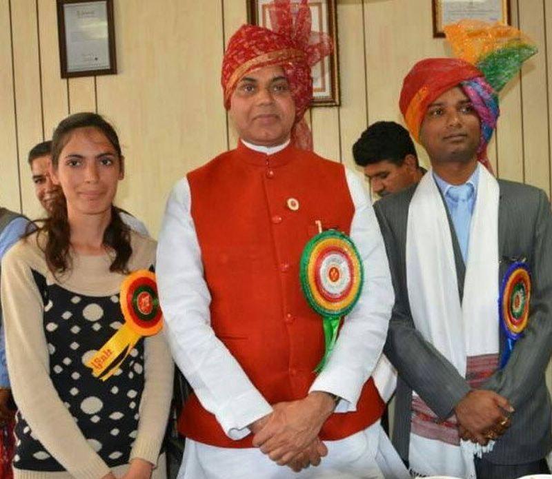 Mandi Tharjoon Gram Panchayat Pradhan Jabna Chauhan