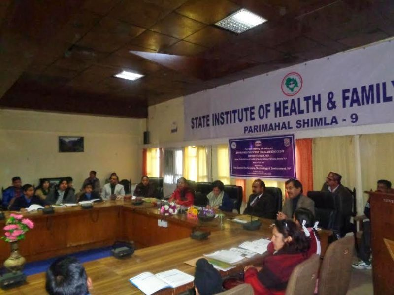 State Health and Family Welfare Training Centre Parimahal Shimla