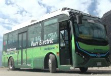 Electric bus in Himachal