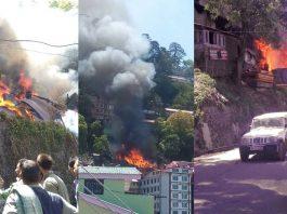 Shimla Fire Breakout