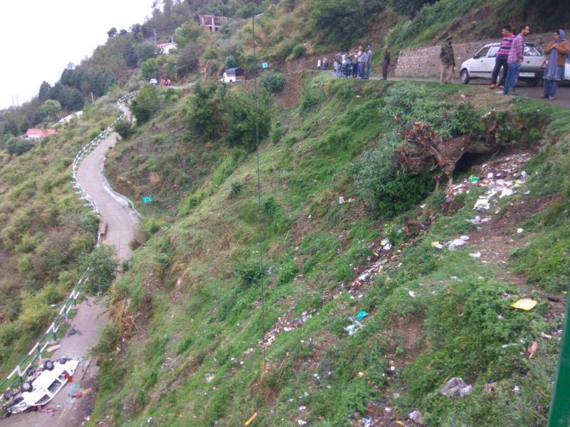 Hiranagar road accident