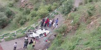 Roads accident in shimla