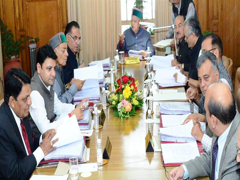 HP Government Cabinet decisions 2017