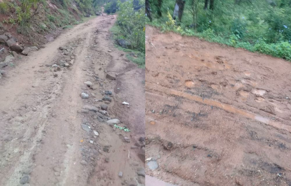 Chandni-road-condition-Kangra