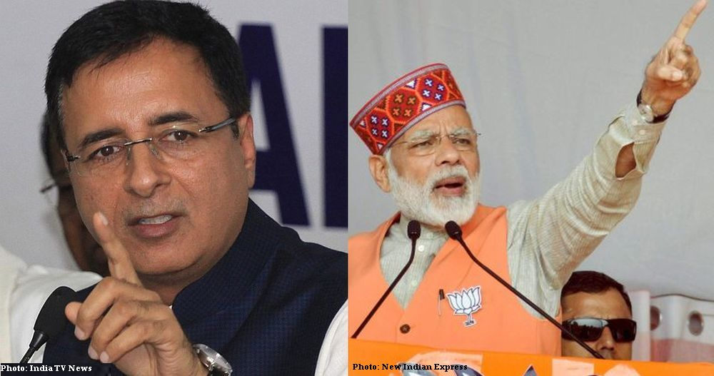 HP polls 2017 Surjewala statement on PM Modi