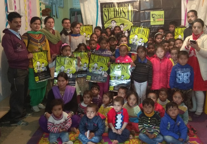 shimla childline friendship week