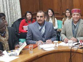 HP VIdhan Sabha Speaker Rajiv Bindal